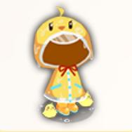 饅頭レインコートの画像