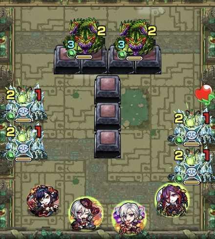 樹縛の神殿 修羅場2ステージ1