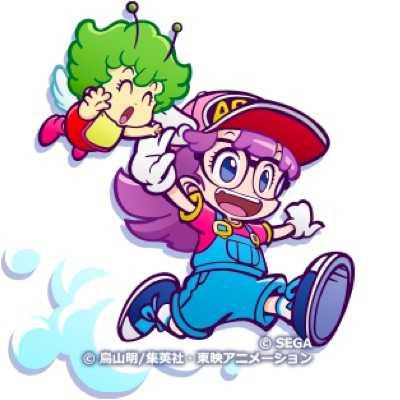 アラレちゃん&ガッちゃん(星7)