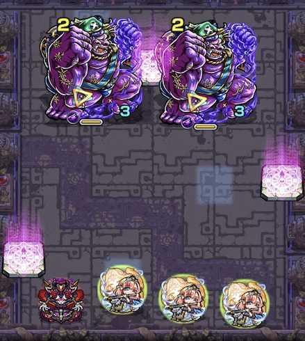 常闇の神殿 時の間2ステージ1