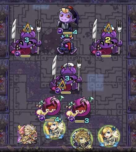 常闇の神殿 修羅場2ステージ1