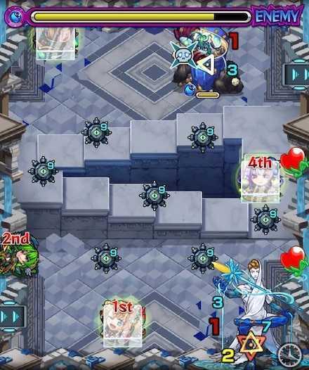 パラドクス ステージ3  1回目敵召喚