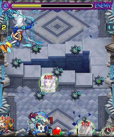 パラドクス ステージ3  2回目敵召喚