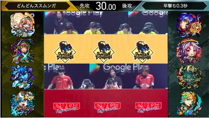 どんどんススムンガ vs 早打ち0.3秒(焔旗の獣人姫)