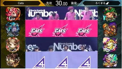 Cats vs ろくまる◢⁴(蛍夜の夏少女)