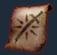 呪われた武器強化の巻物の画像