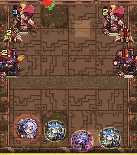獄炎の神殿 修羅場2ステージ1