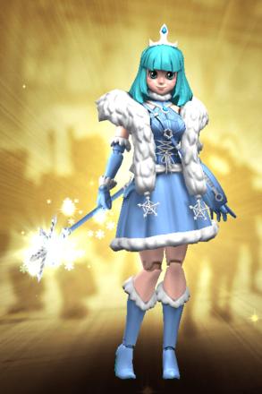 星4雪の精霊