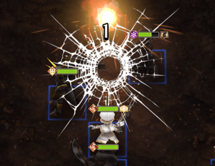 連続攻撃の画像