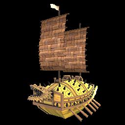 竜頭船の画像