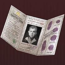「無言者」の証明カードの画像