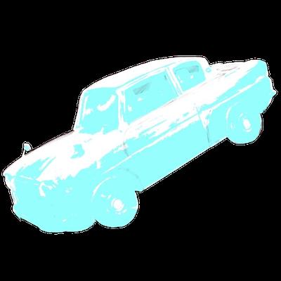ウィーズリーの空飛ぶ車の画像