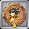 ナイトの闘志メダルの画像