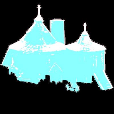 ハグリッドの小屋の画像