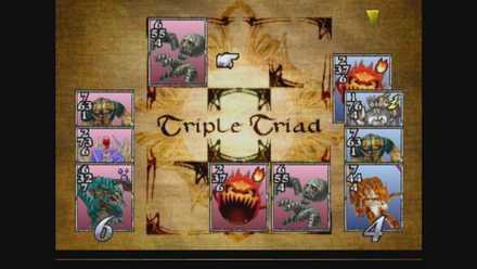 カードゲームをプレイ