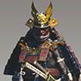 鎧武者の画像