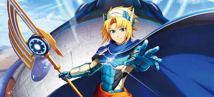 モンストアニメ「解放の呪文」が開始
