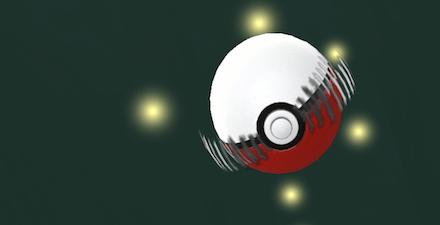 カーブボールを投げる