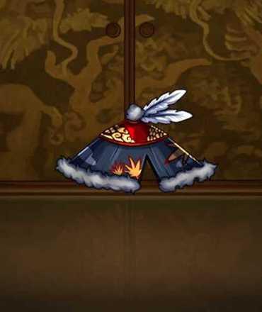 流浪の菅笠の画像