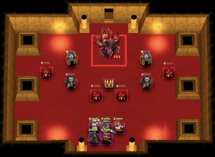 凶敵の間-ガルム-のマップ画像