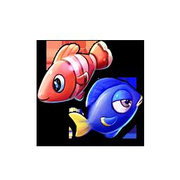 海のお魚たちの画像