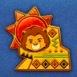ライオンキングイベントのプラチナピンズ画像