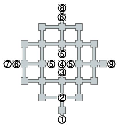 名もなき王の墓全体図