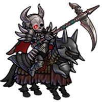 死神騎士のミニキャラ