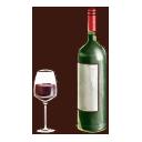 ボルドーワインの画像