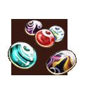 トンボ玉の画像