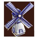 風車置物の画像