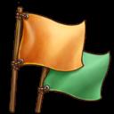 信号旗の画像