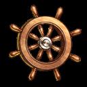 操舵輪の画像