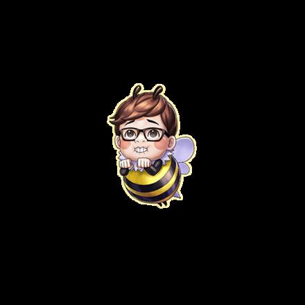 ハチくんの画像