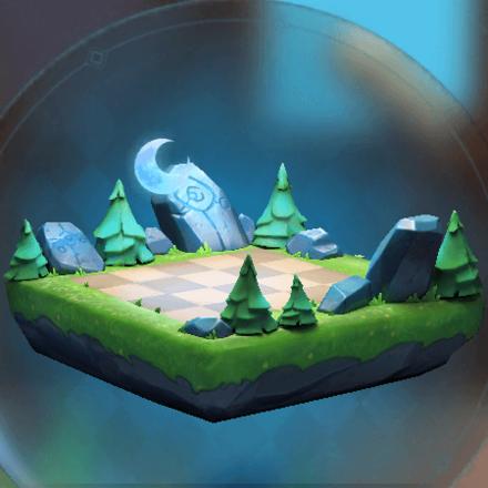 永夜の森の画像