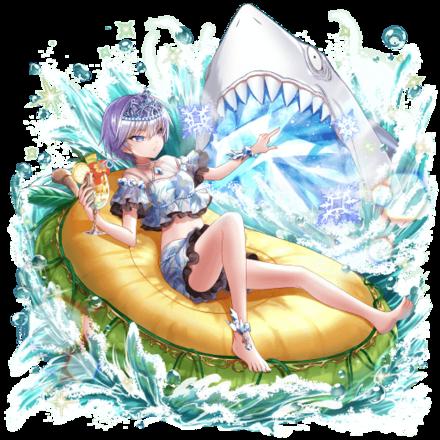 [くつろぎの氷姫]イクシラの画像