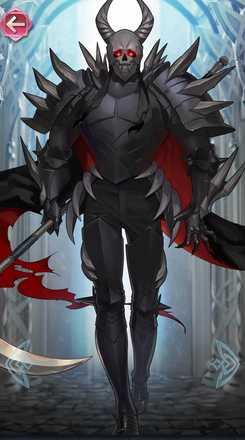 死神騎士(闇夜の悪鬼)の立ち絵