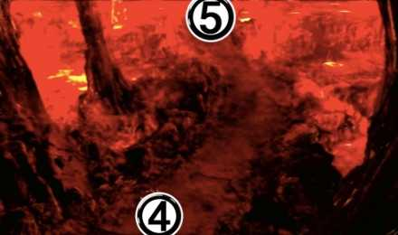炎の洞窟③