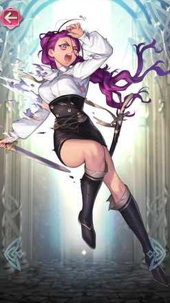 ペトラ(異境の姫)の立ち絵