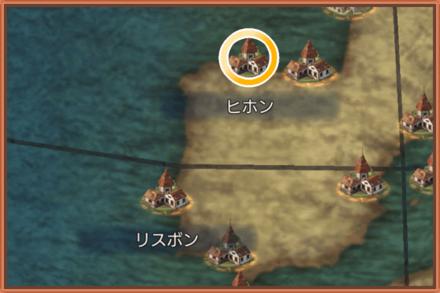 ヒホンのマップ画像