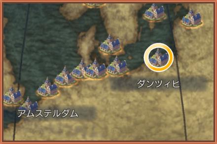 ダンツィヒのマップ画像