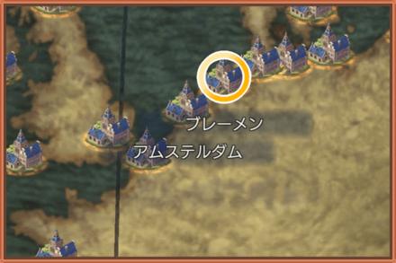 ブレーメンのマップ画像