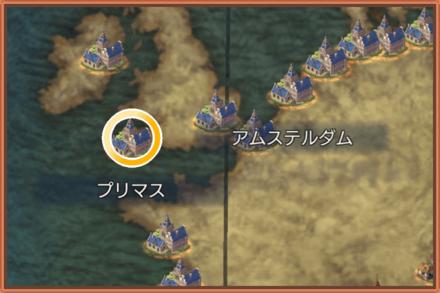 プリマスのマップ画像