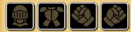 基本4種装備のアイコン