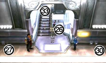 ガルバディアガーデン2F階段