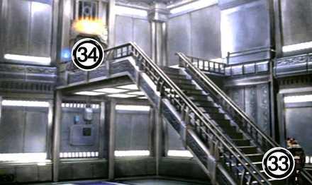 ガルバディアガーデン3F階段