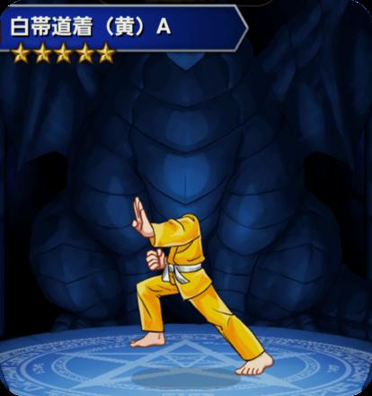 白帯道着(黄)Aの画像