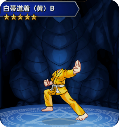 白帯道着(黄)Bの画像
