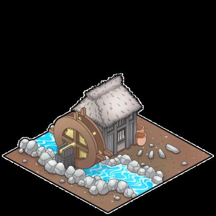 ★6高貴な水車小屋の画像