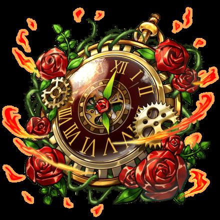 紅薔薇のオルロージュの画像